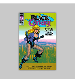 Black Canary (complete limited series) 1991