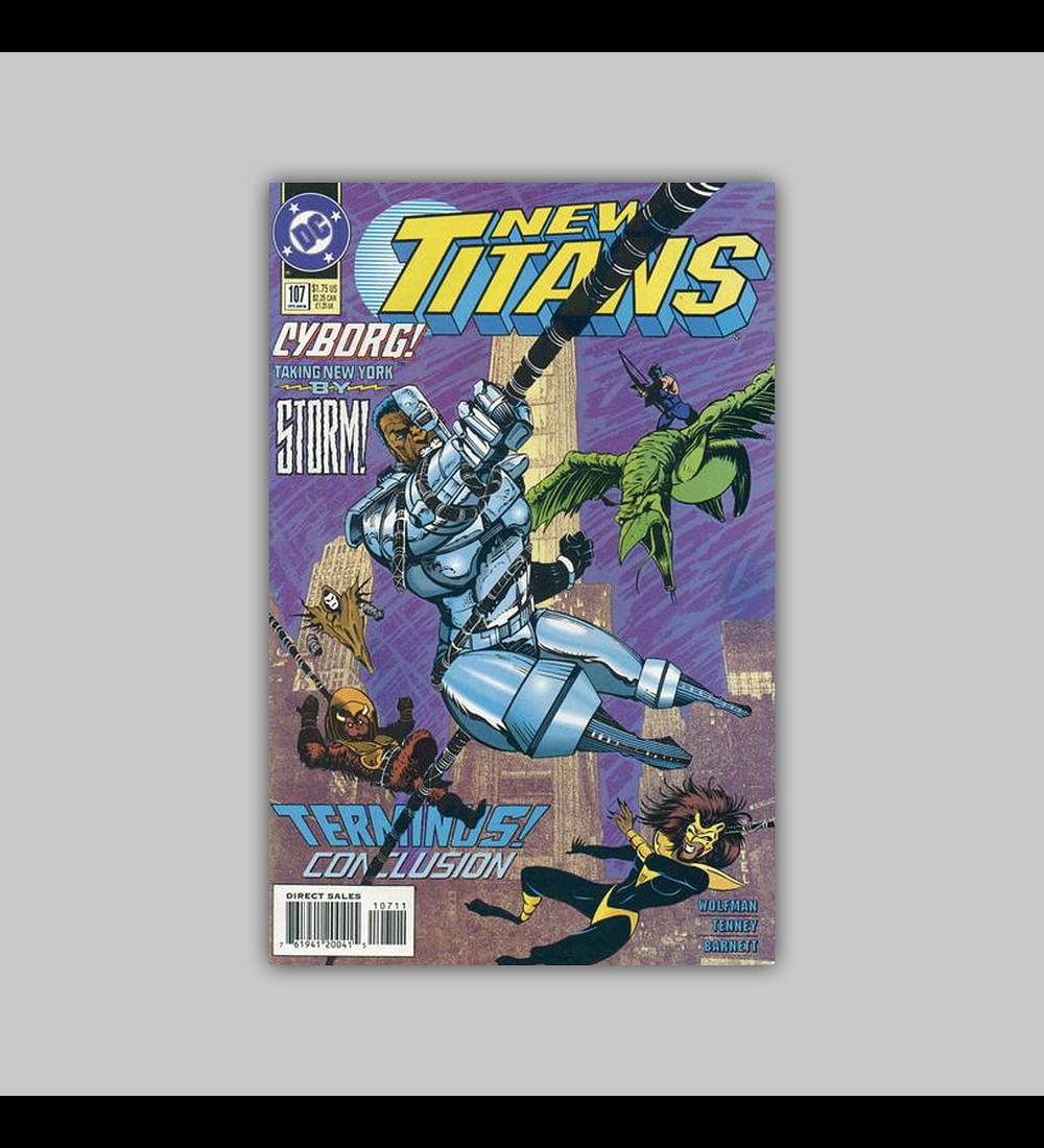 The New Titans 107 1994
