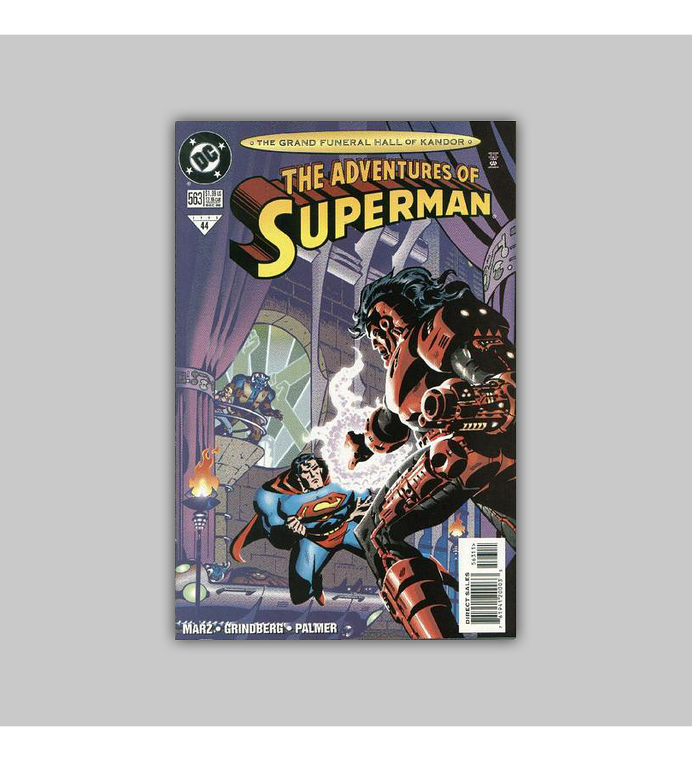 The Adventures of Superman 563 1998