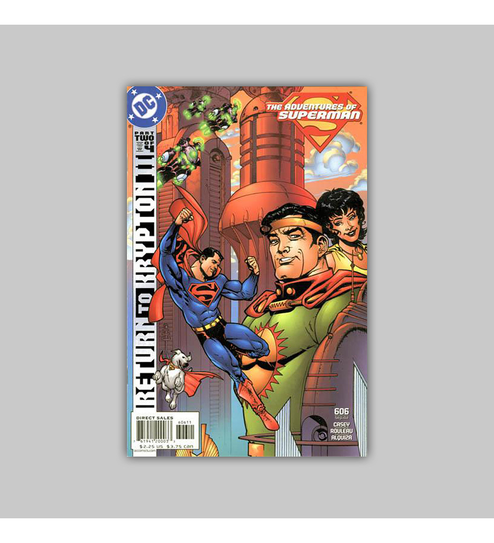 The Adventures of Superman 606 2002