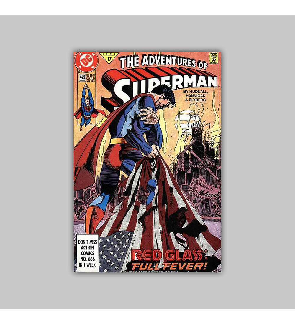 The Adventures of Superman 479 1991