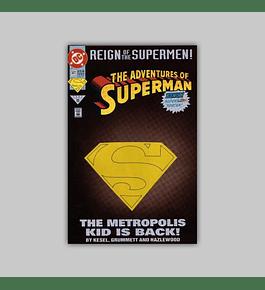 The Adventures of Superman 501 Die-Cut 1993