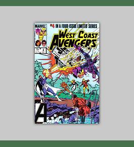 West Coast Avengers 4 1984
