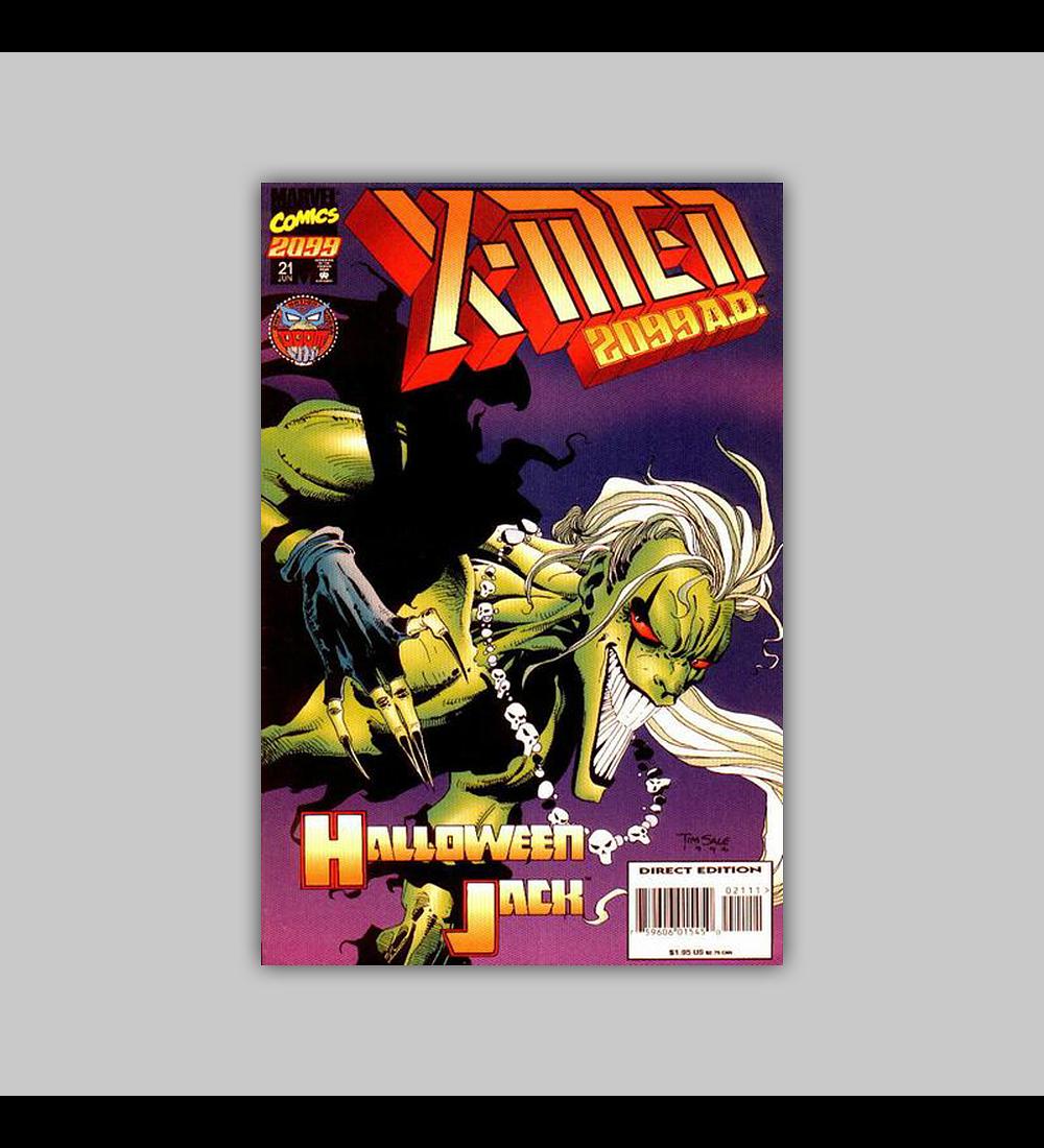 X-Men 2099 21 1995