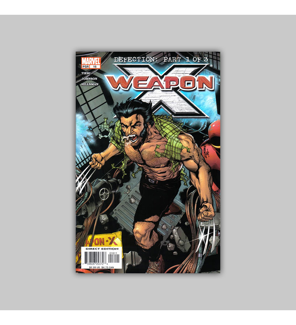 Weapon X 16 2004