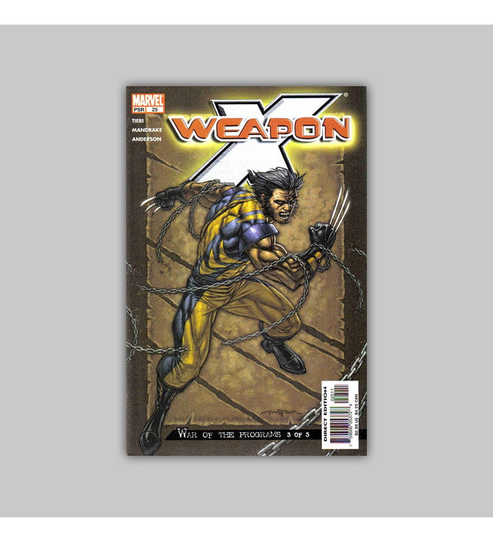 Weapon X 25 2004