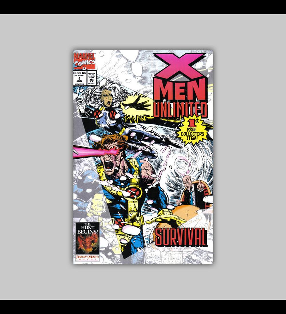 X-Men Unlimited 1 1993