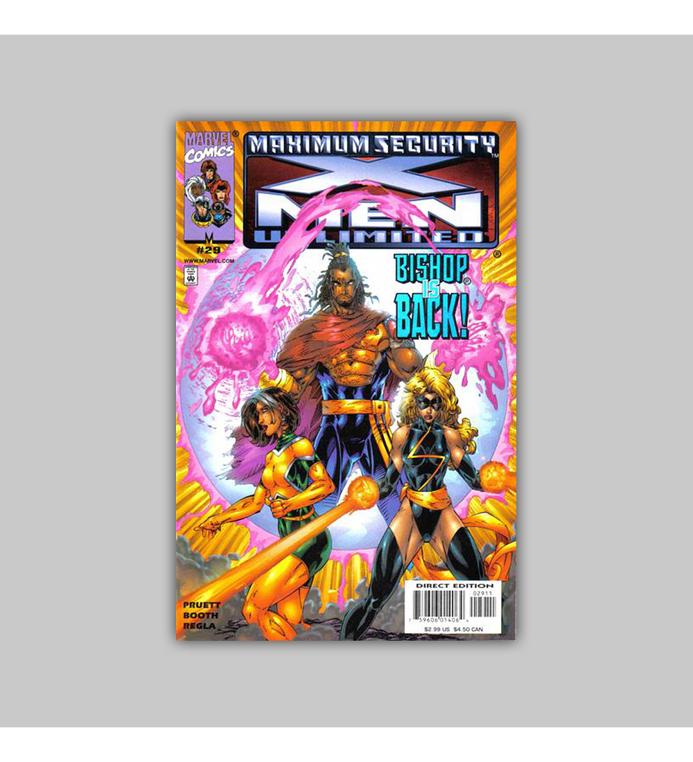 X-Men Unlimited 29 2000