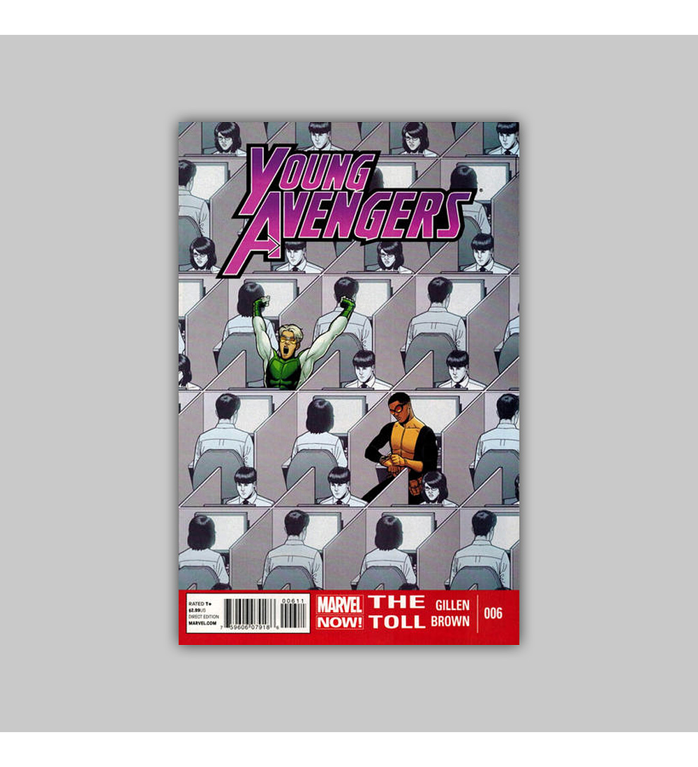 Young Avengers 6 2013