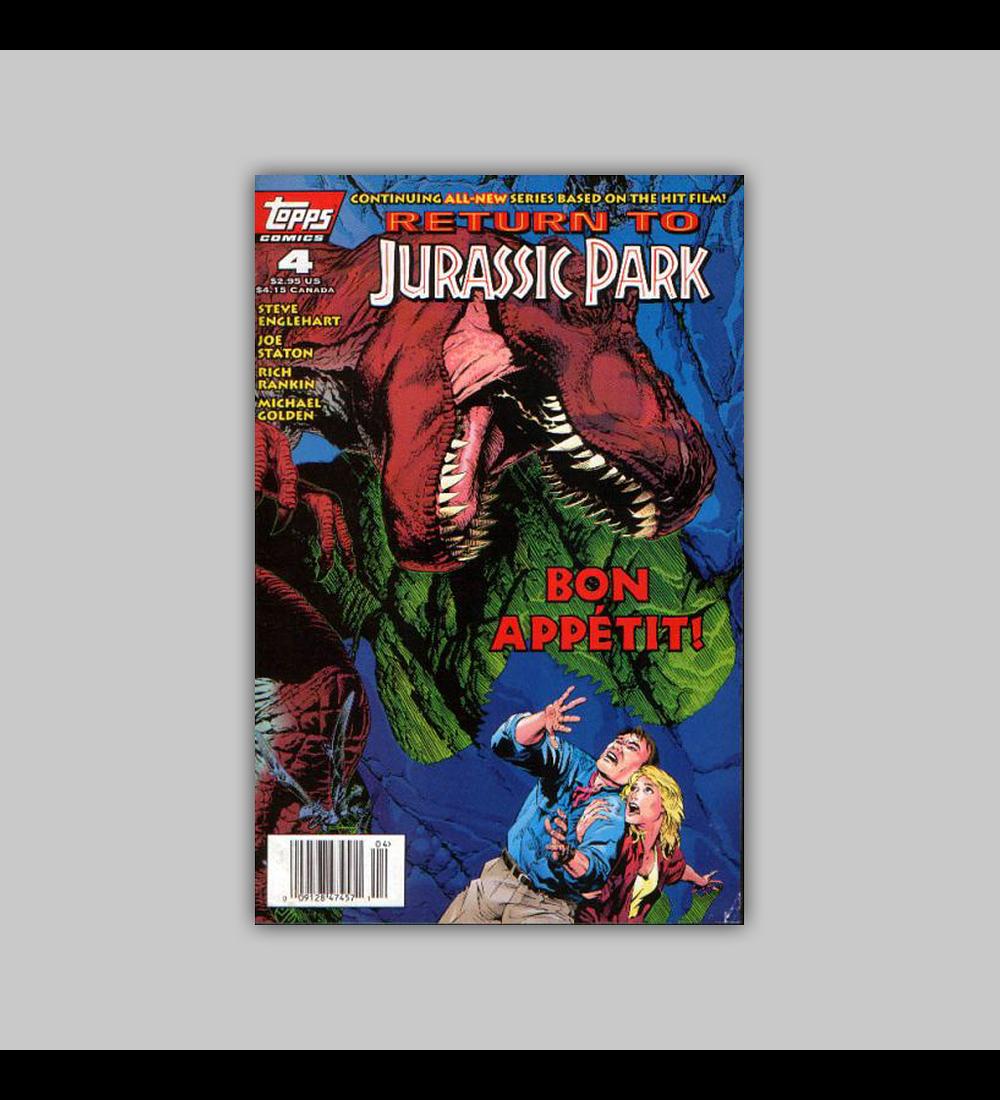 Return to Jurassic Park 4 1995