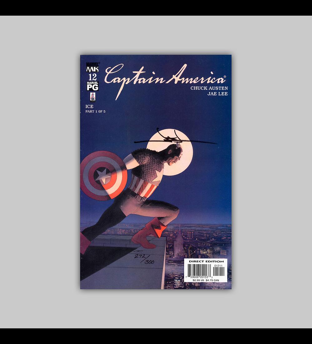Captain America (Vol. 4) 12 Signed 2003