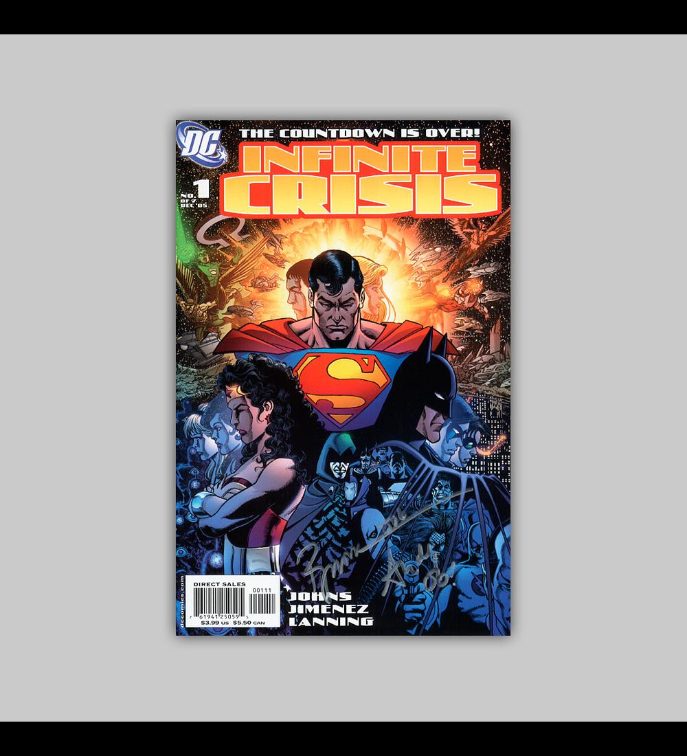 Infinite Crisis 1 Signed 2005