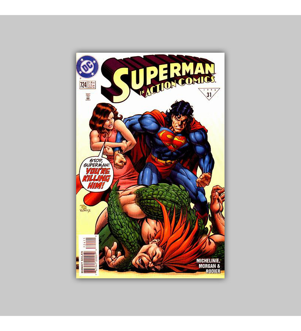 Action Comics 724 1996