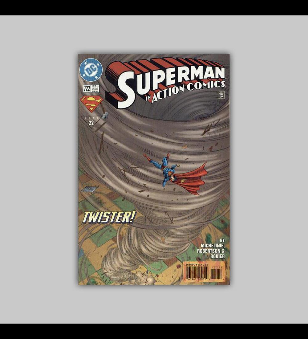 Action Comics 722 1996