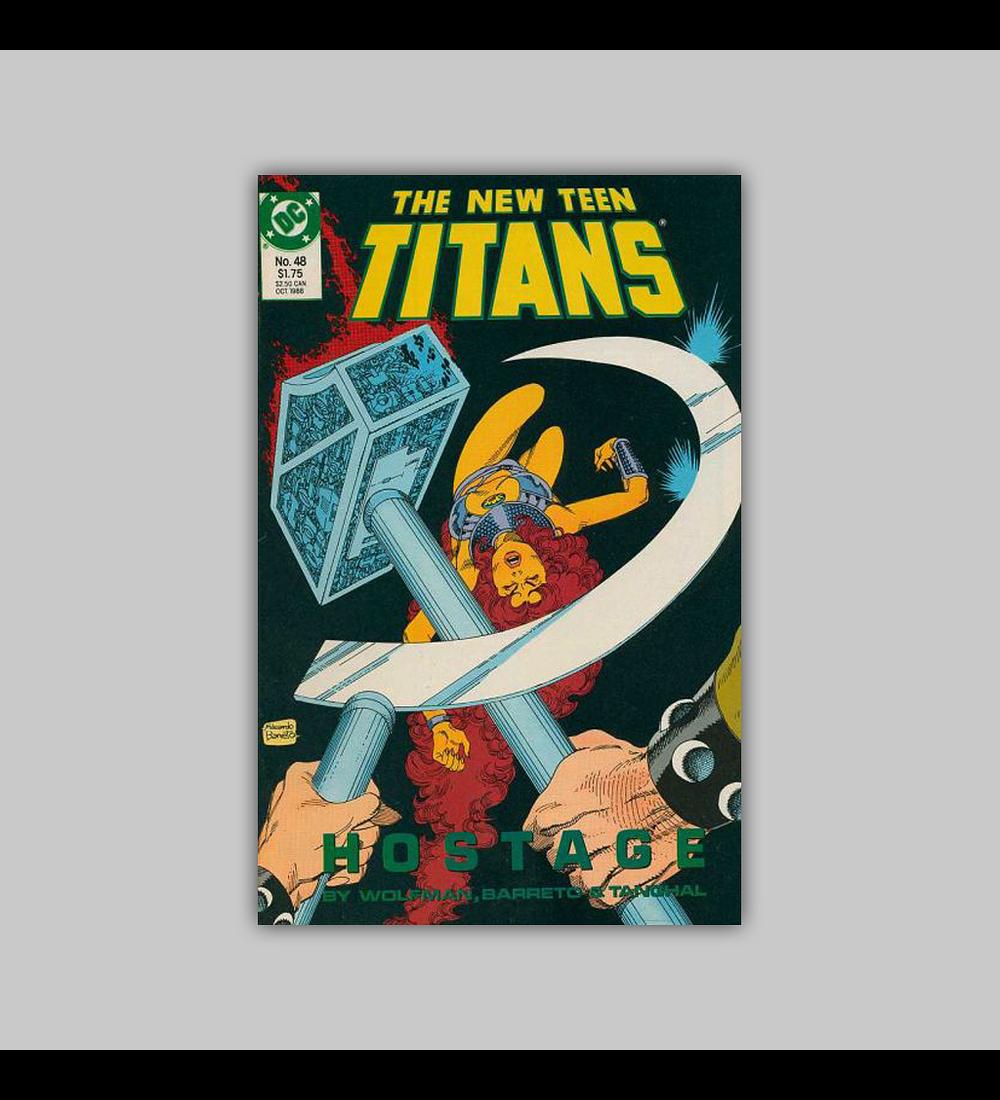 New Teen Titans (Vol. 2) 48 1988