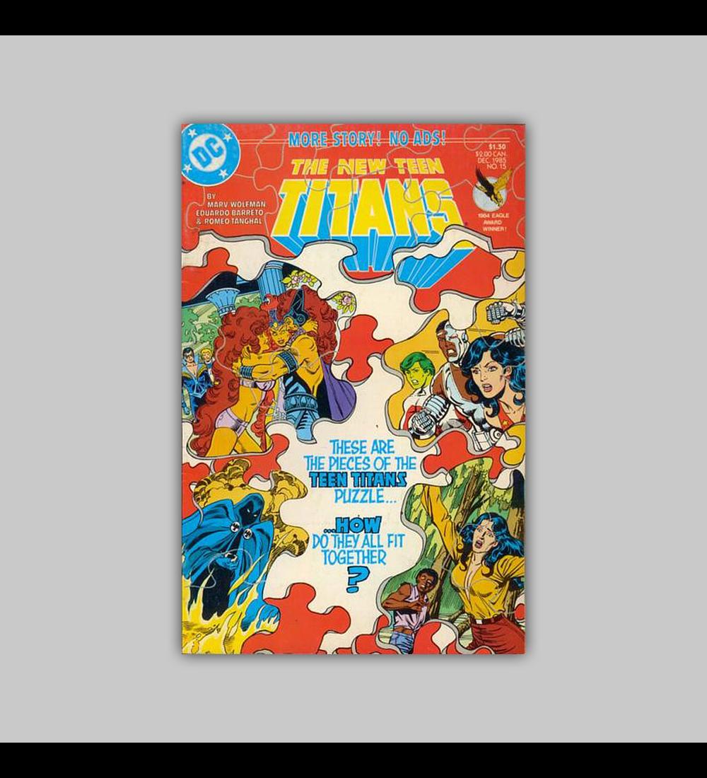 New Teen Titans (Vol. 2) 15 1985
