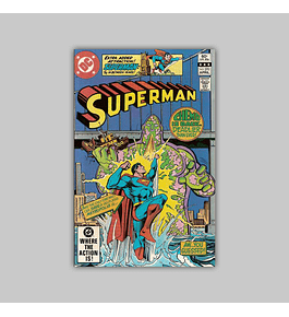Superman 370 VF+ (8.5) 1982
