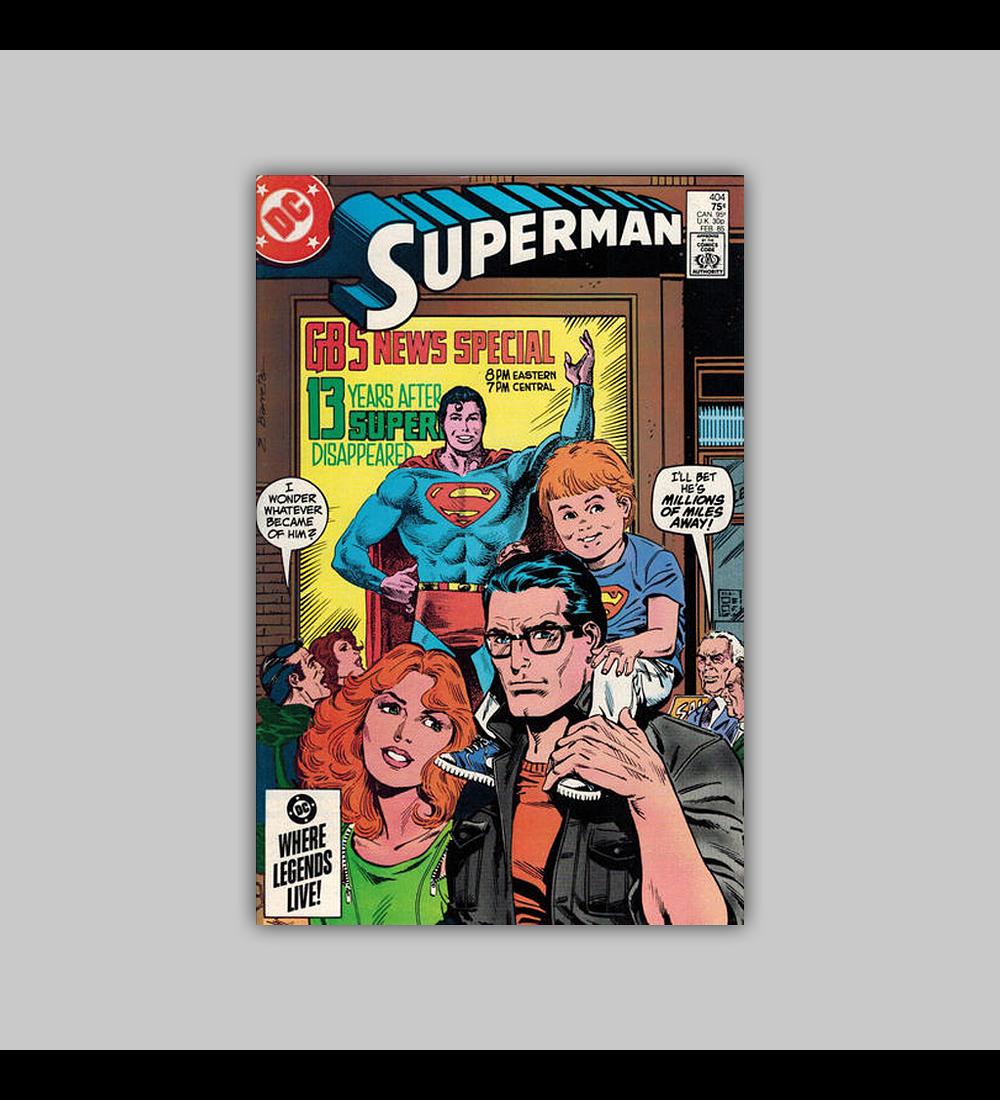 Superman 404 1985