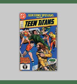 Teen Titans Spotlight 21 1988