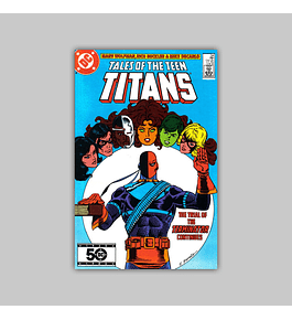 Tales of the Teen Titans 54 1985