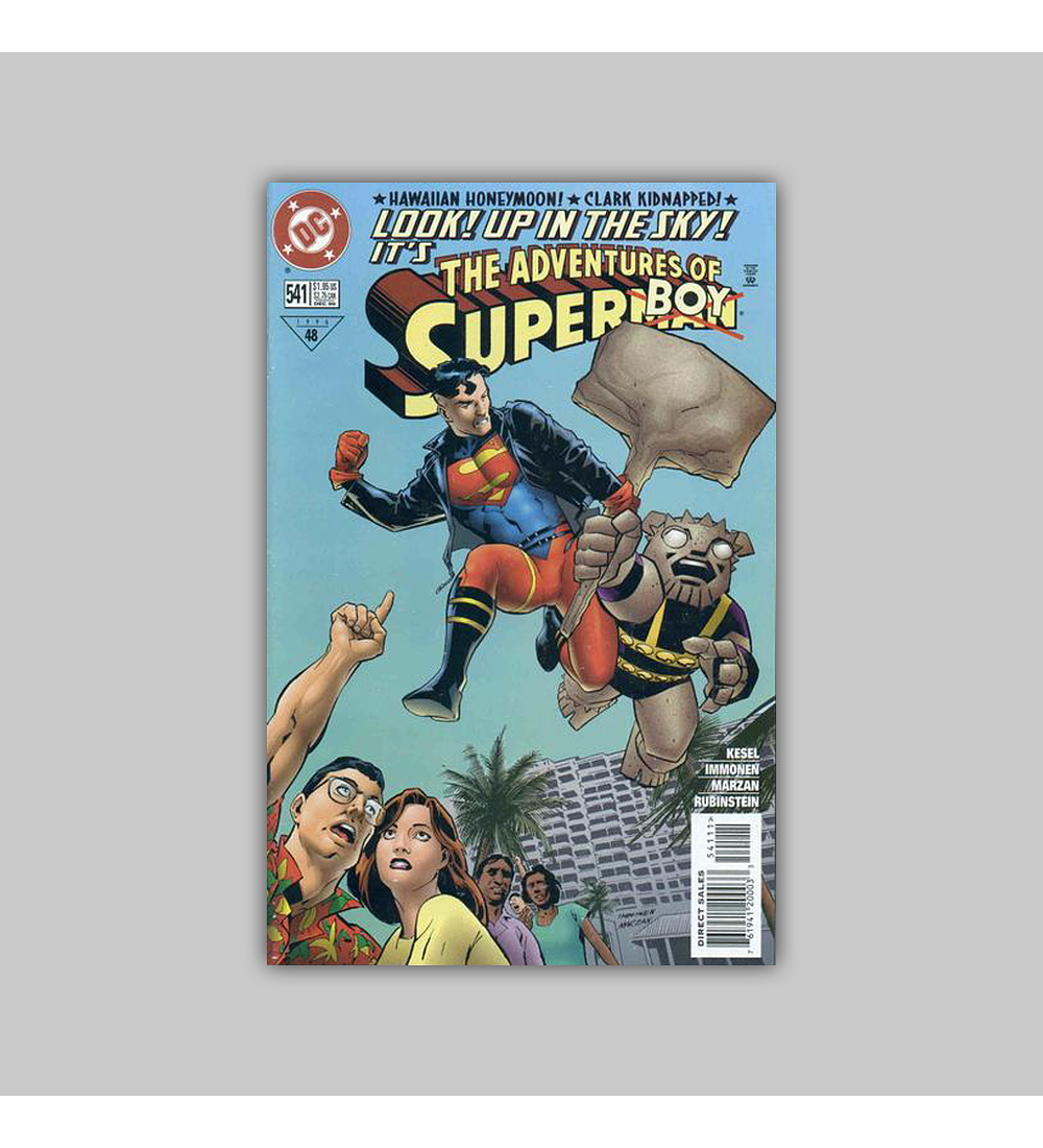 The Adventures of Superman 541 1996