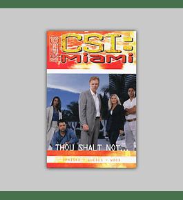 CSI: Miami — Thou Shalt Not… 2004