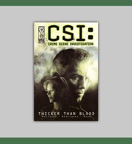 CSI: Thicker Than Blood 2003