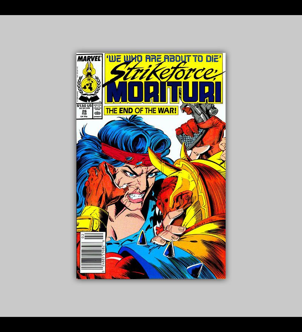 Strikeforce: Morituri 26 1989