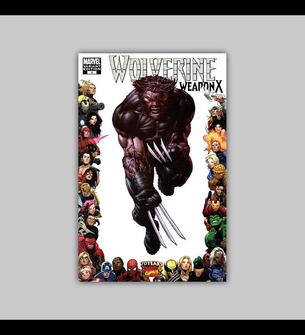 Wolverine: Weapon X 4 C 2009