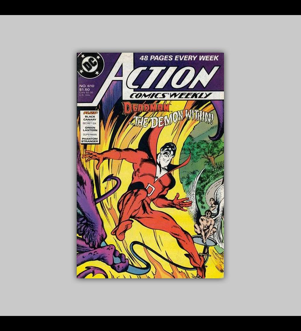 Action Comics 610 1988