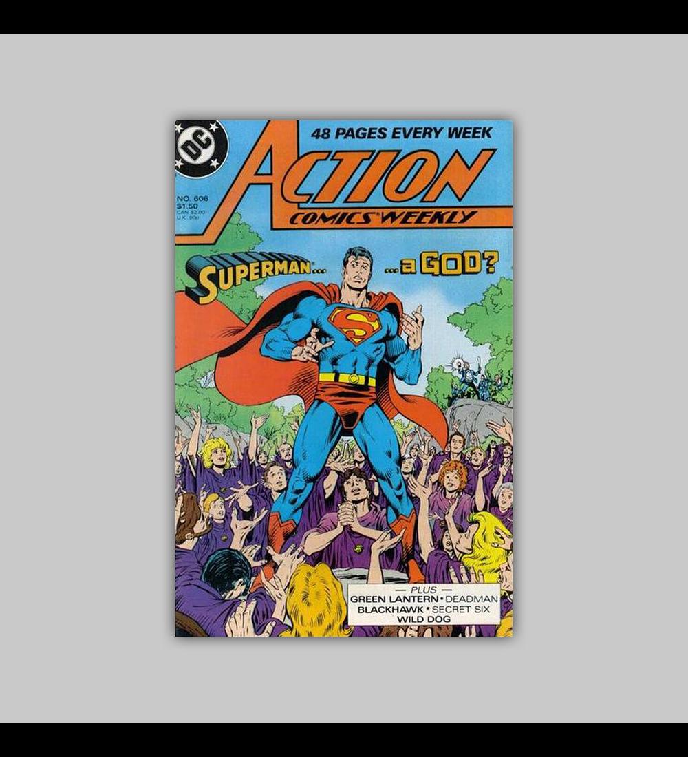 Action Comics 606 1988