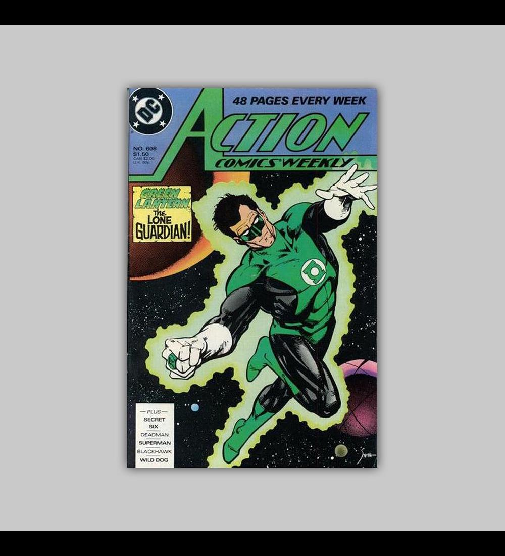Action Comics 608 1988
