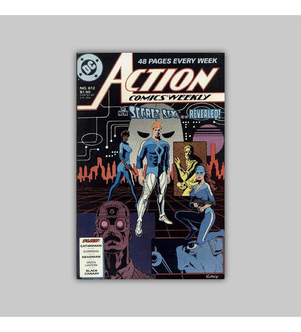 Action Comics 612 1988