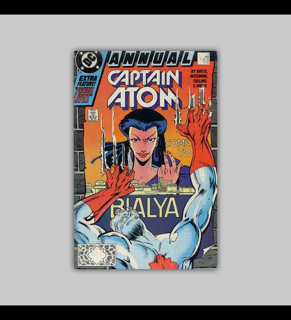 Captain Atom Annual 1 1988