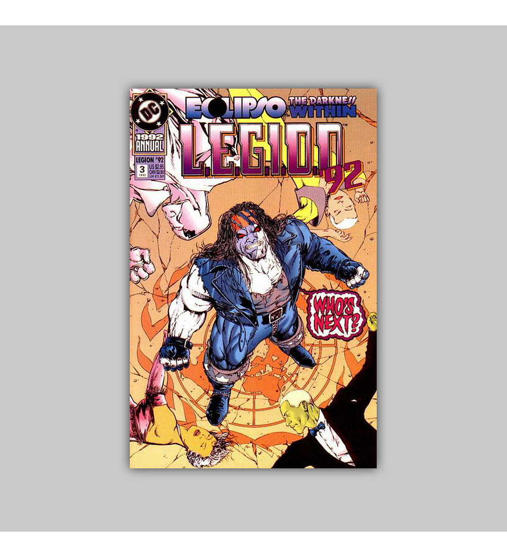 LEGION '92 Annual 3 1992