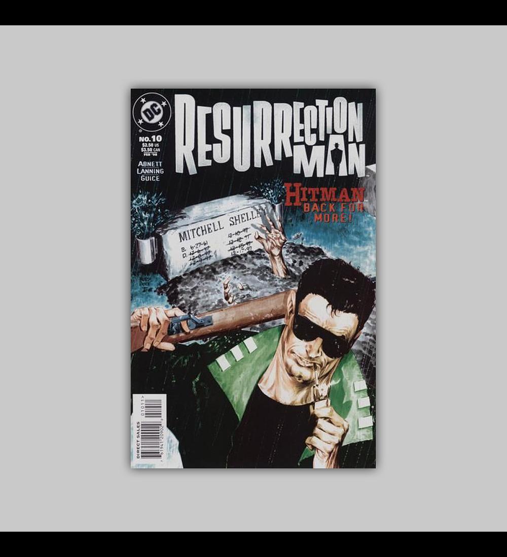 Resurrection Man 10 1998
