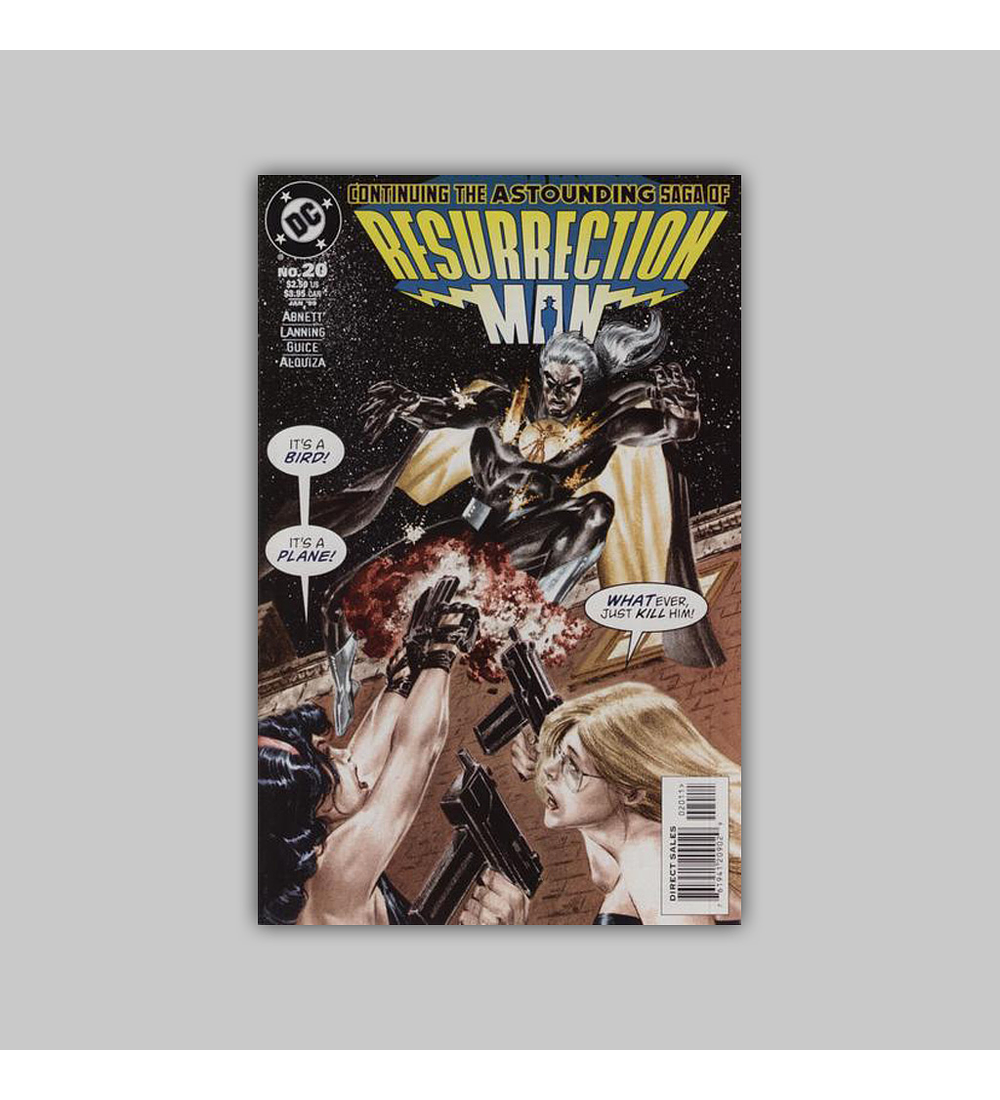 Resurrection Man 20 1998