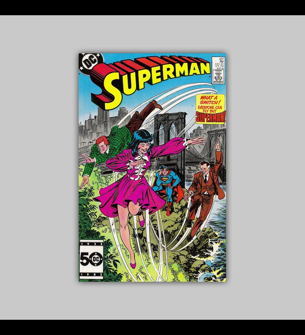 Superman 407 1985