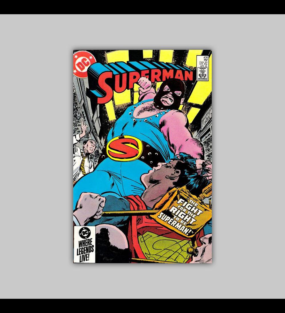 Superman 406 1985