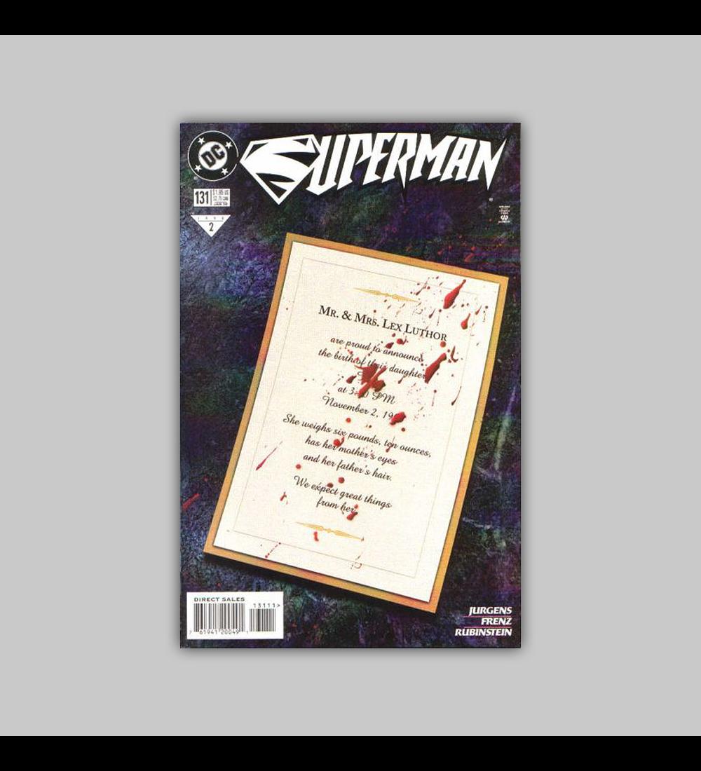 Superman (Vol. 2) 131 1998