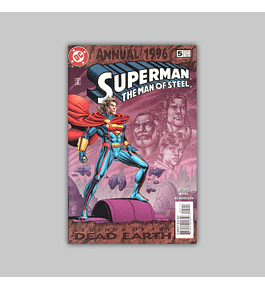 Superman: The Man of Steel Annual 5 1996