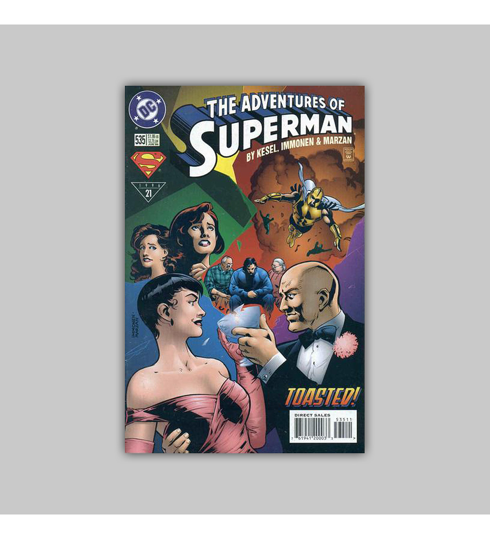 The Adventures of Superman 535 1996