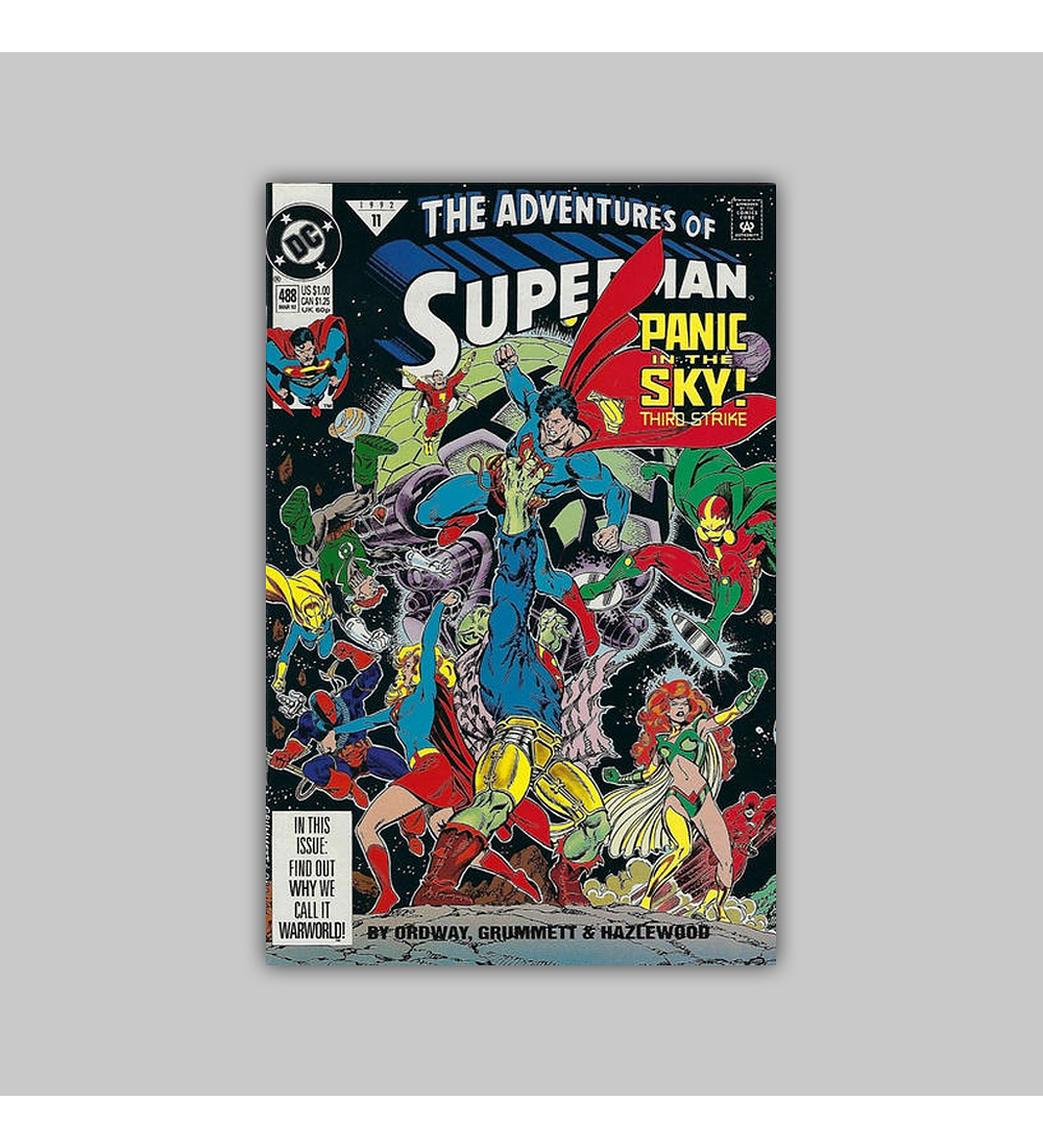 The Adventures of Superman 488 1992