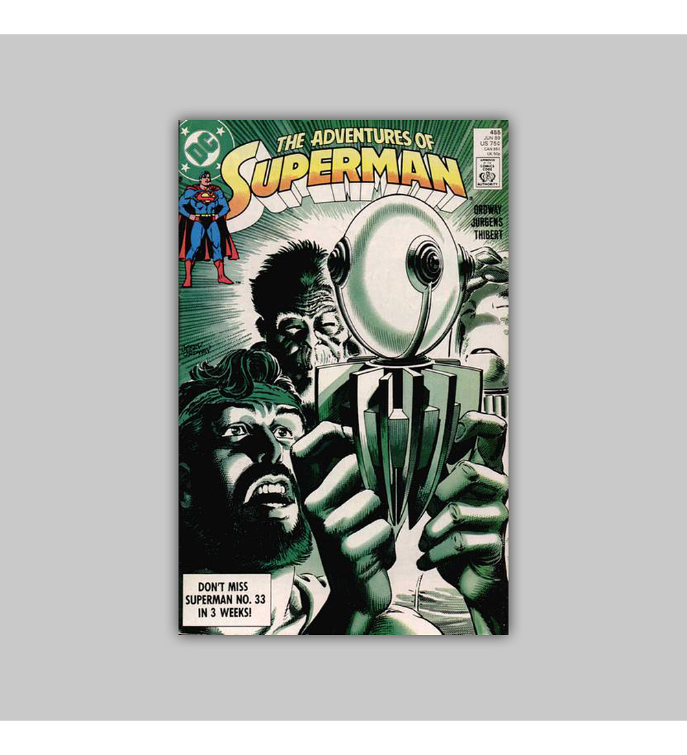 The Adventures of Superman 455 1989