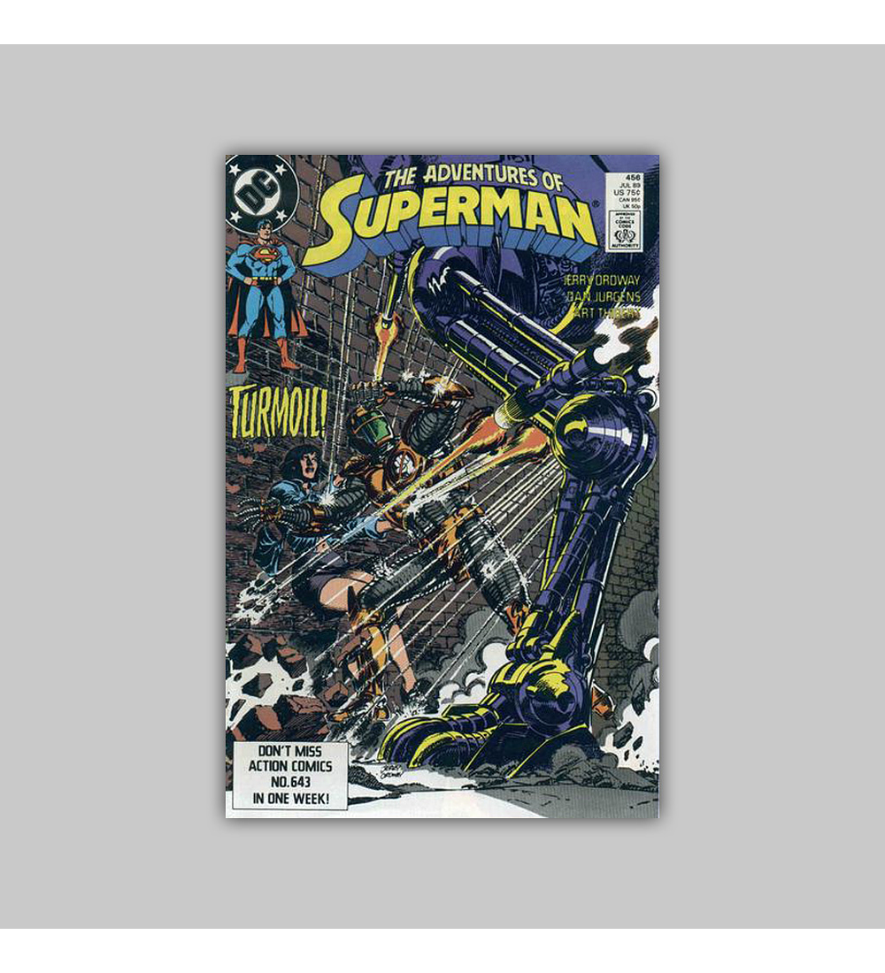 The Adventures of Superman 456 1989