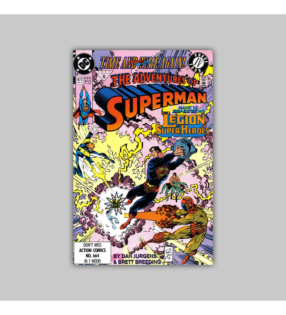 The Adventures of Superman 477 1991