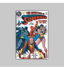 The Adventures of Superman 475 1991