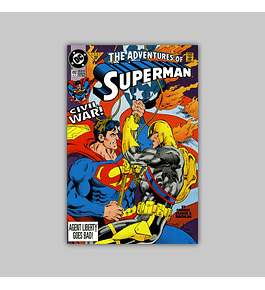 The Adventures of Superman 492 1992