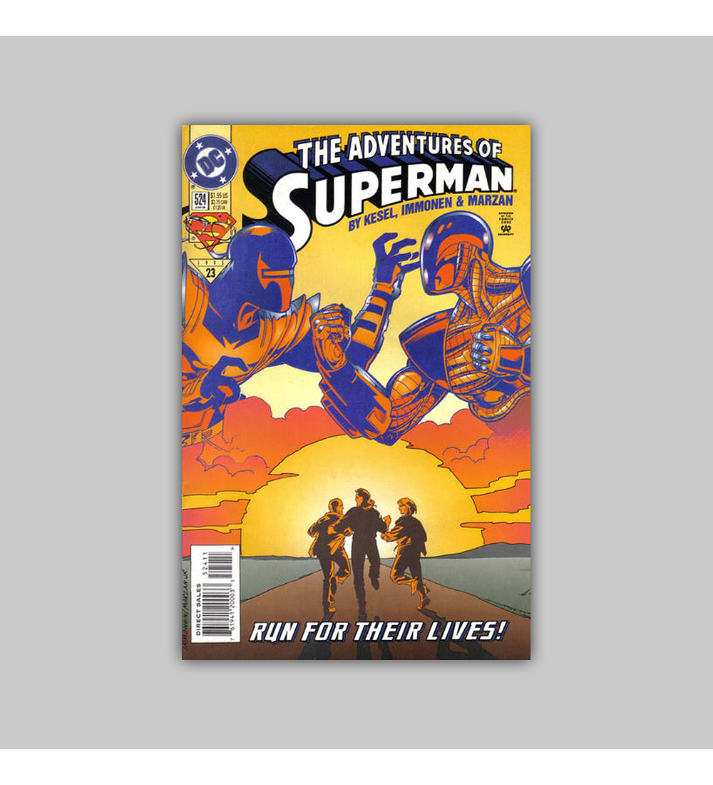 The Adventures of Superman 524 1995
