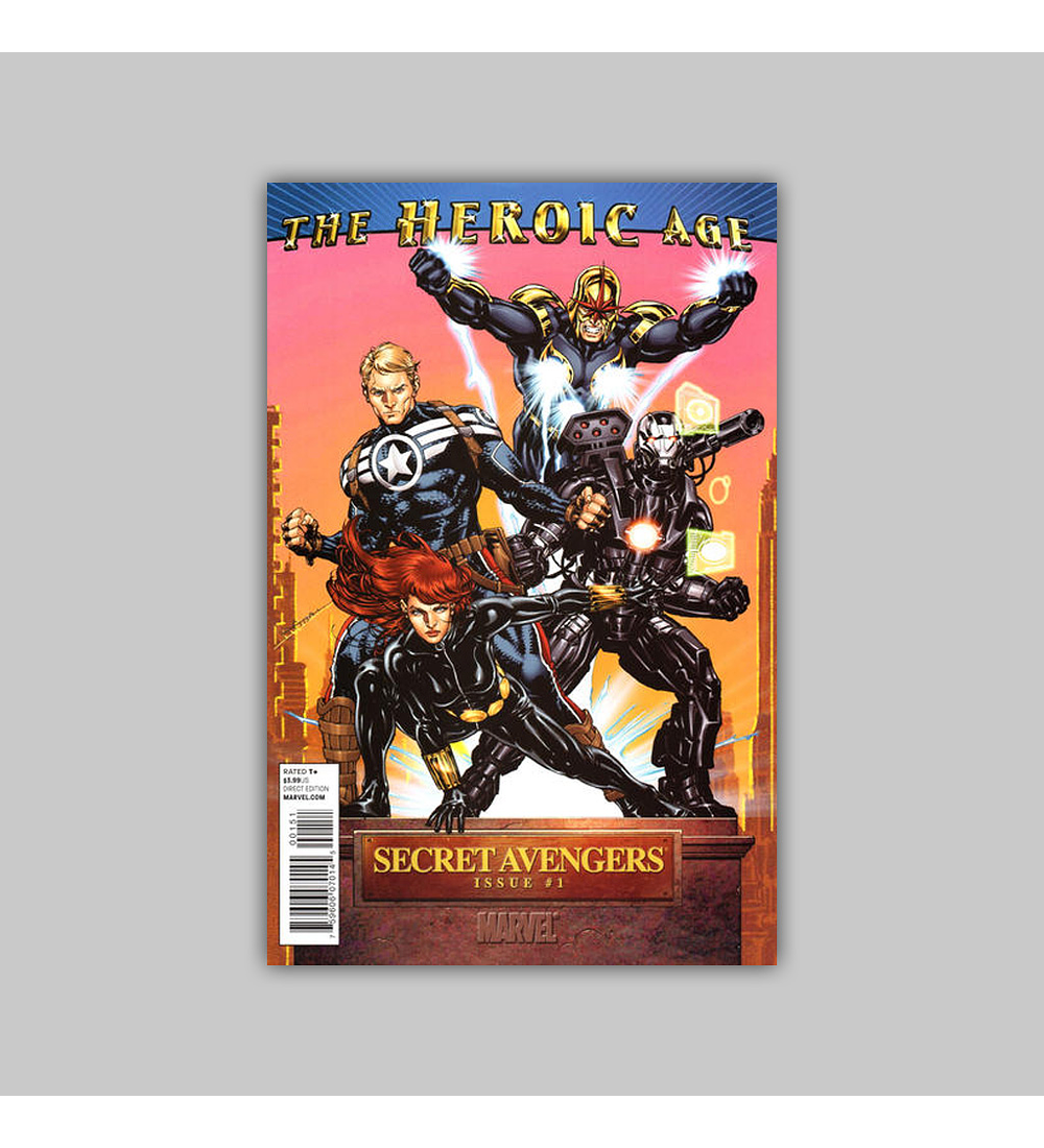 Secret Avengers 1 Heroic Age 2010